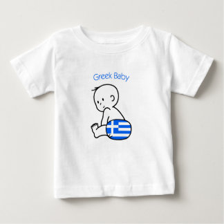 Griechisches Baby Baby T-shirt