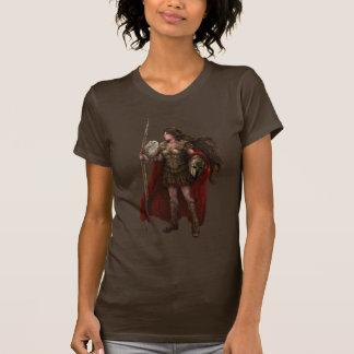 Griechisches Göttin-Athene-Kunst-Shirt T-Shirt