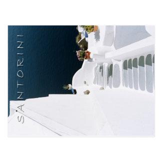 Griechisches Insel santorini Postkarte