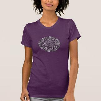 Griechisches Kreis-Motiv T-Shirt