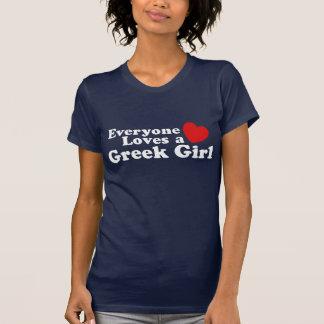 Griechisches Mädchen T-Shirt