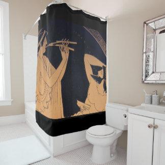 griechisches Muse korrigiert Duschvorhang