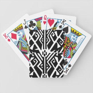 Griechisches Muster Bicycle Spielkarten