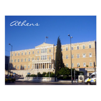griechisches Parlament Postkarte
