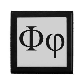 Griechisches Phi Geschenkbox