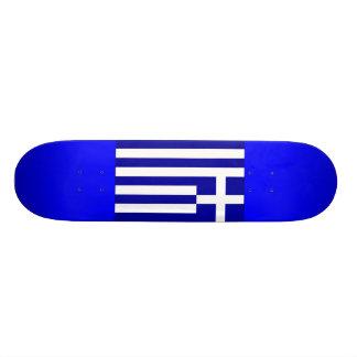 Griechisches Skateboard Personalisierte Decks