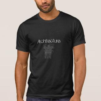 Griechisches Spalten-Architektur-T-Shirt T-Shirt