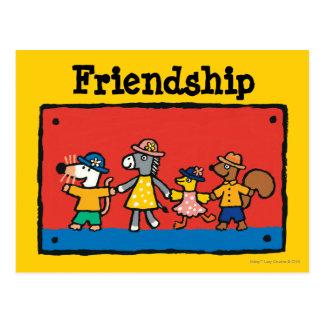 Griff-Hände Maisy und der besten Freunde Postkarte