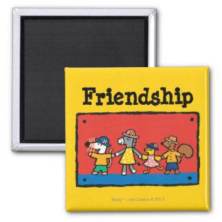 Griff-Hände Maisy und der besten Freunde Quadratischer Magnet
