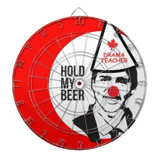 Griff Justin Trudeau mein Bier-Clown-Kanada-Clown Dartscheibe