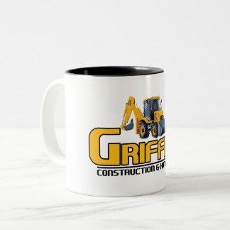Griffith Constructioin (Firmenunterstützung) Zweifarbige Tasse