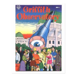"""Griffith-Observatorium"" #1, 1979 Postkarte"