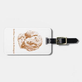 Griffon Fauve de Bretagne Gepäckanhänger