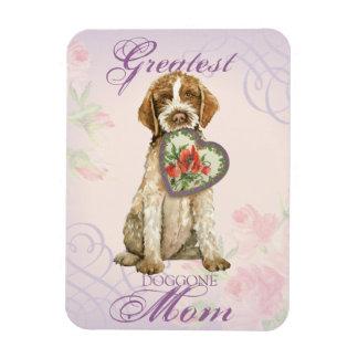 Griffon Herz-Mamma Magnet