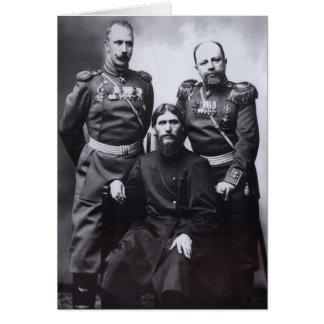 Grigori Rasputin General Putyatin Oberst Lotman Karte