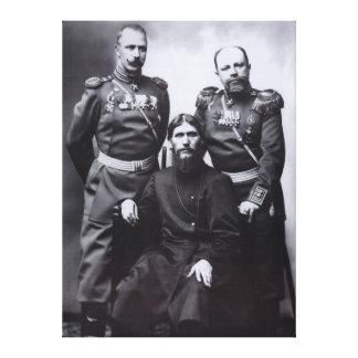 Grigori Rasputin General Putyatin Oberst Lotman Leinwand Druck