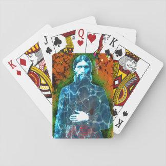 Grigori Rasputin russischer wütender Spielkarten