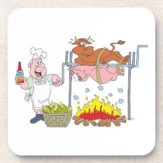 Grill Grillen barbecue BBQ Untersetzer