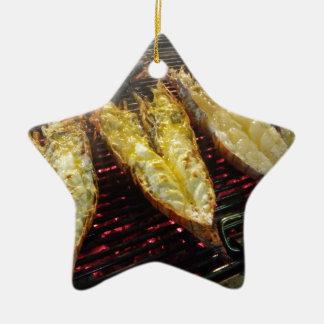 Grill-Hummer Keramik Stern-Ornament