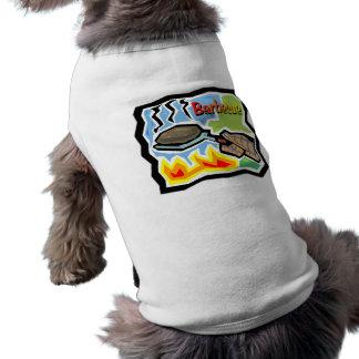 Grill-Hündchen-gewelltes Trägershirt Top