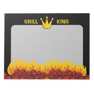 Grill-König Crown Notizblock