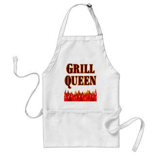 Grill-Königin lustige GRILLEN Sprichwort-Schürze