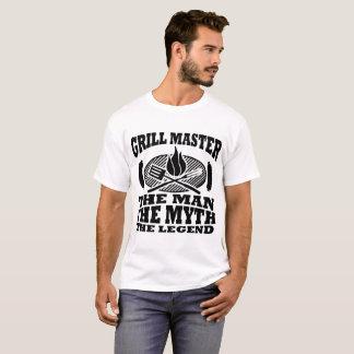 GRILL-MEISTER DER MANN DER MYTHOS DIE LEGENDE T-Shirt