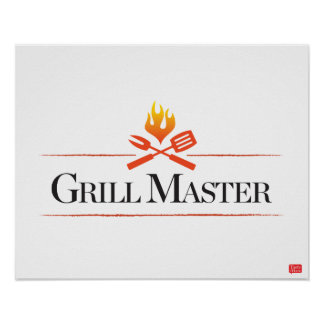 Grill-Meister Poster