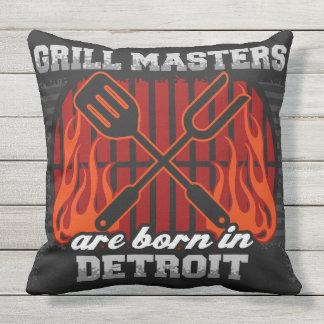 Grill-Meister sind in Detroit geboren Kissen