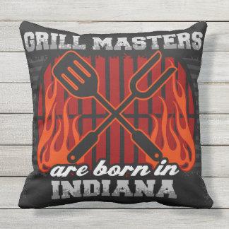 Grill-Meister sind in Indiana geboren Kissen