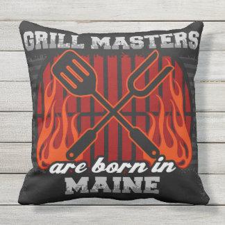 Grill-Meister sind in Maine geboren Kissen