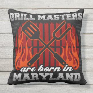 Grill-Meister sind in Maryland geboren Kissen