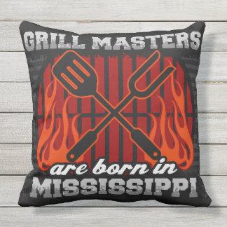 Grill-Meister sind in Mississippi geboren Kissen