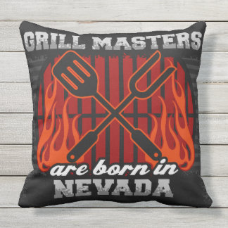 Grill-Meister sind in Nevada geboren Kissen