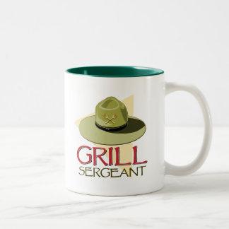 Grill-Sergeant Zweifarbige Tasse