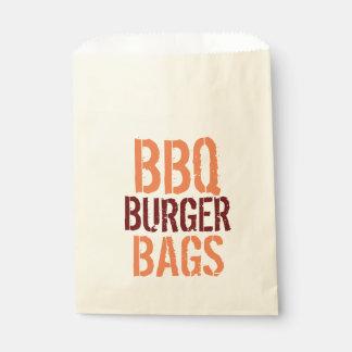 GRILLEN Burger-Taschen Geschenktütchen