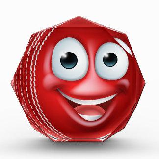 Grillen-Cartoon-Charakter-Ball Auszeichnung