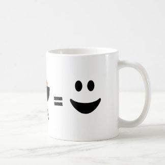GRILLEN Huhn glücklich Kaffeetasse