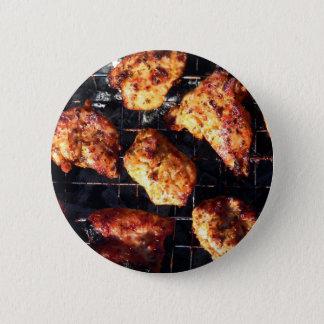 GRILLEN Huhn Runder Button 5,1 Cm