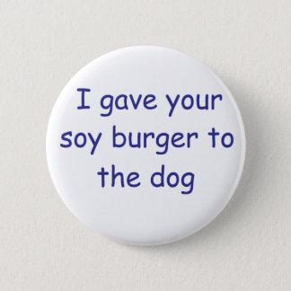 GRILLEN Sojabohnenöl-Burger Runder Button 5,7 Cm