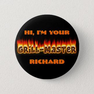 Grillmaster Identifikation Runder Button 5,7 Cm
