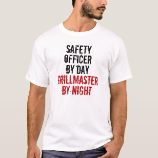 Grillmaster Sicherheitsbeamter T-Shirt