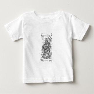 Grimmige Sensenmann-Sense-Band-Tätowierung Baby T-shirt