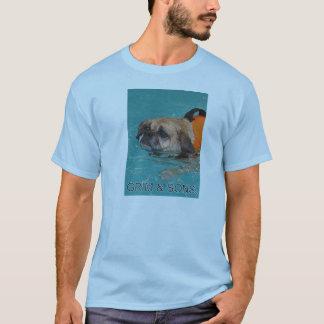 GRIMMIGE U. SOHN-GESICHTER T-Shirt