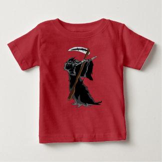 grimmiger betupfender lustiger baby t-shirt