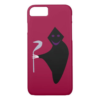 Grimmiger Sensenmann-Halloween iPhone Fall iPhone 8/7 Hülle