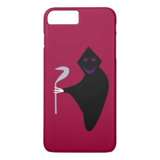 Grimmiger Sensenmann-Halloween iPhone Fall iPhone 8 Plus/7 Plus Hülle