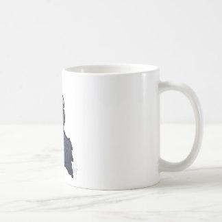 Grimmiger Sensenmann Kaffeetasse