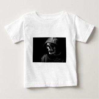 Grimmiger Sensenmann-Schädel Baby T-shirt