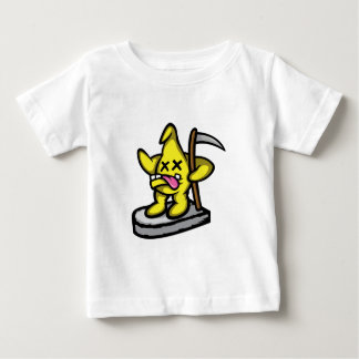 Grimmiger Stern Baby T-shirt